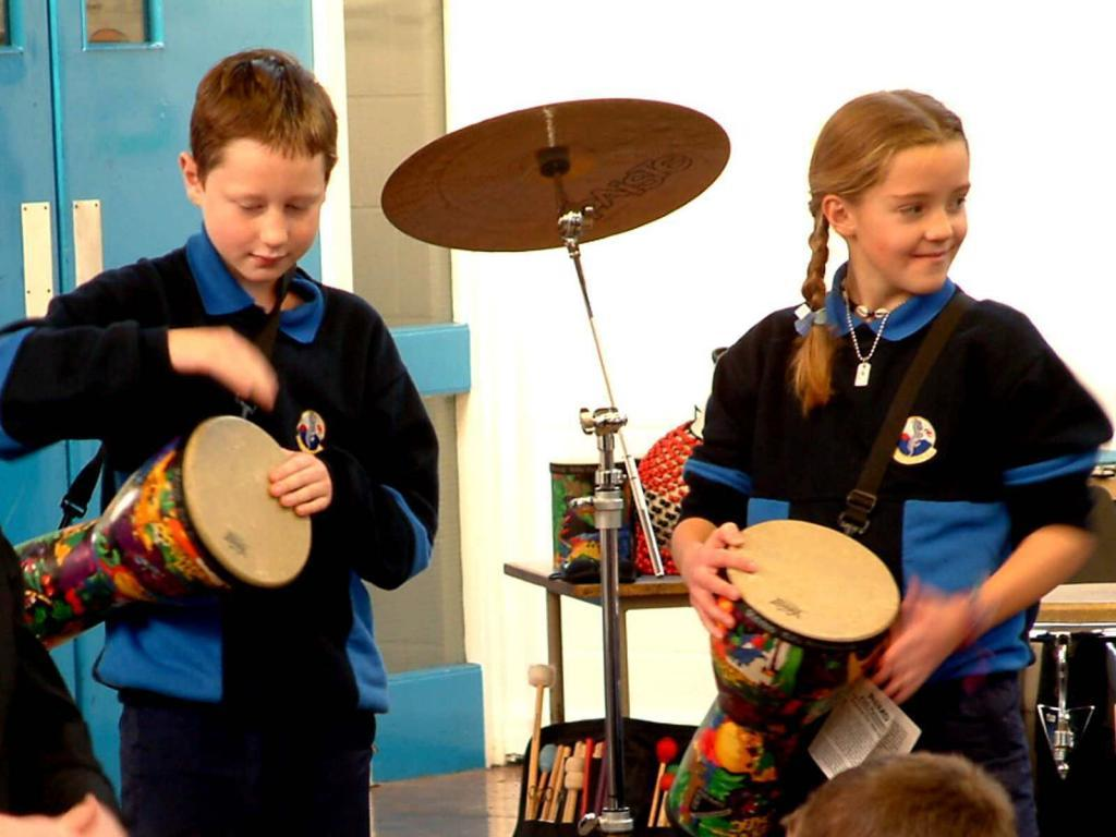 Drumming Around the World Workshop
